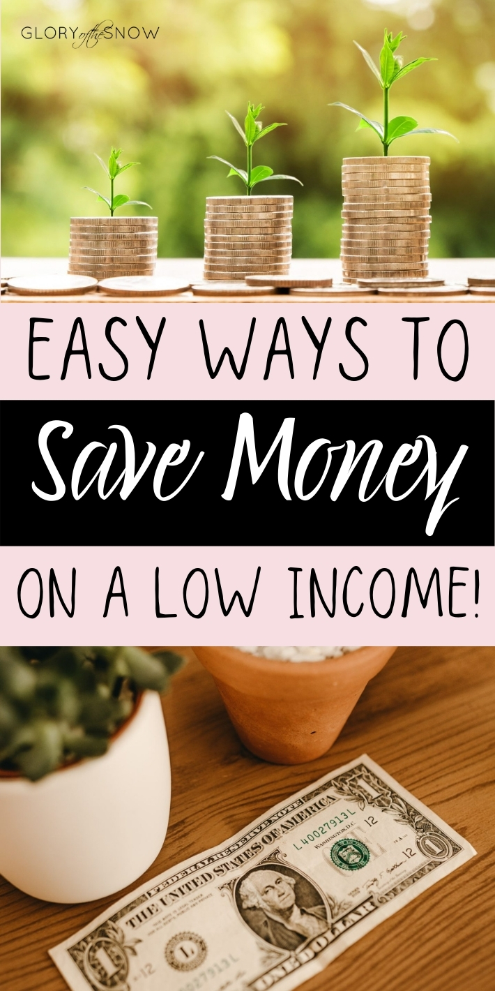 How to Save Money Monthly: 10 Simple Tips To Save Money Even On A Low Income!
