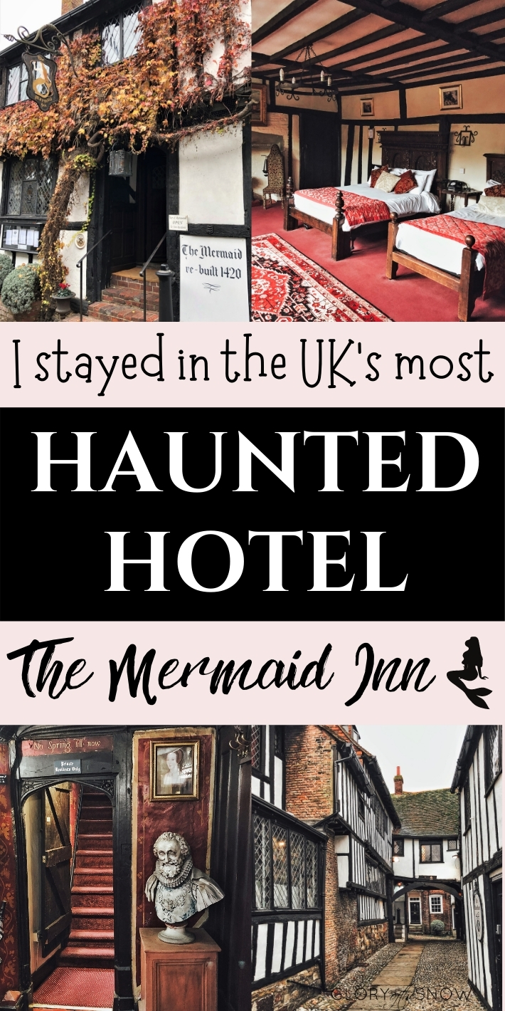 Haunted Locations - World's Most Haunted Hotels - The Mermaid Inn - UK Travel