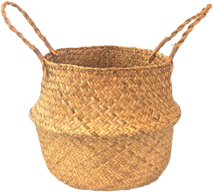 Cottagecore Aesthetic Storage Basket