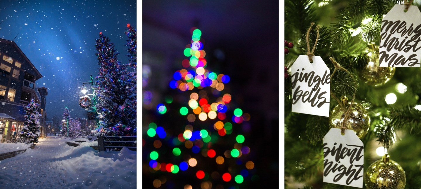 Free HD Christmas Tree Wallpaper Backgrounds For iPhone