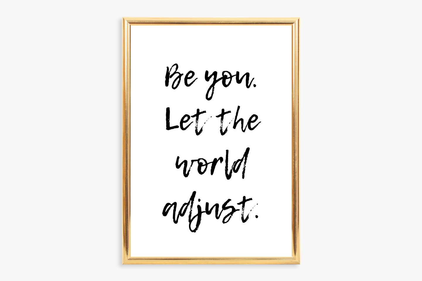 Free Printable Inspirational Quote Wall Art: Be You