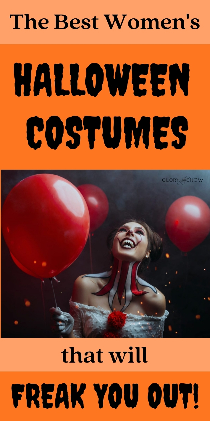 The Best Women's Horror Halloween Costumes That Will Freak You Out