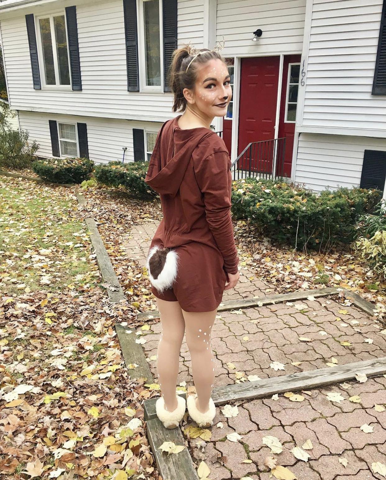 Cute Deer Halloween Costume For Teen Girls