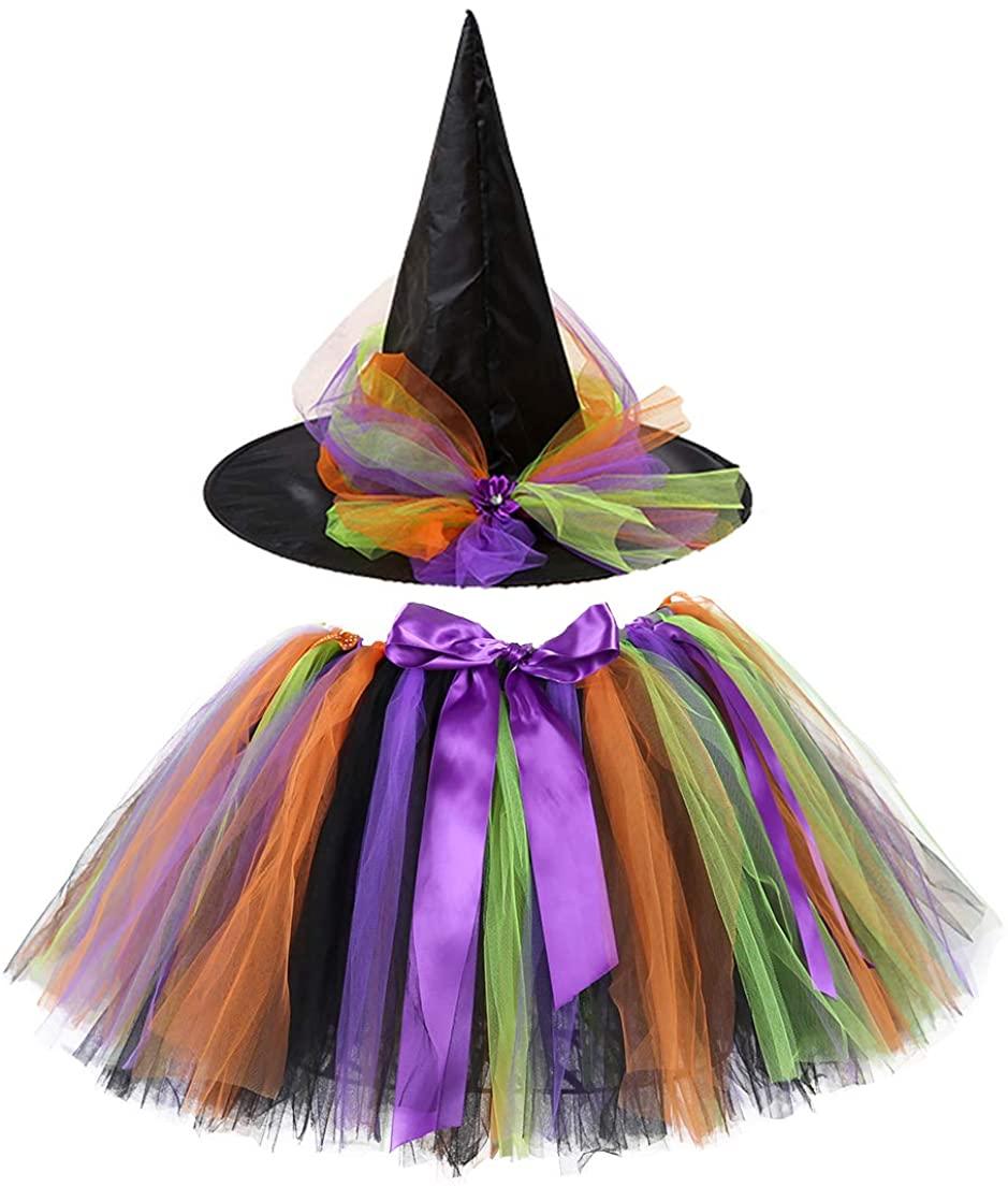 Tutu Witch Cute Halloween Costume