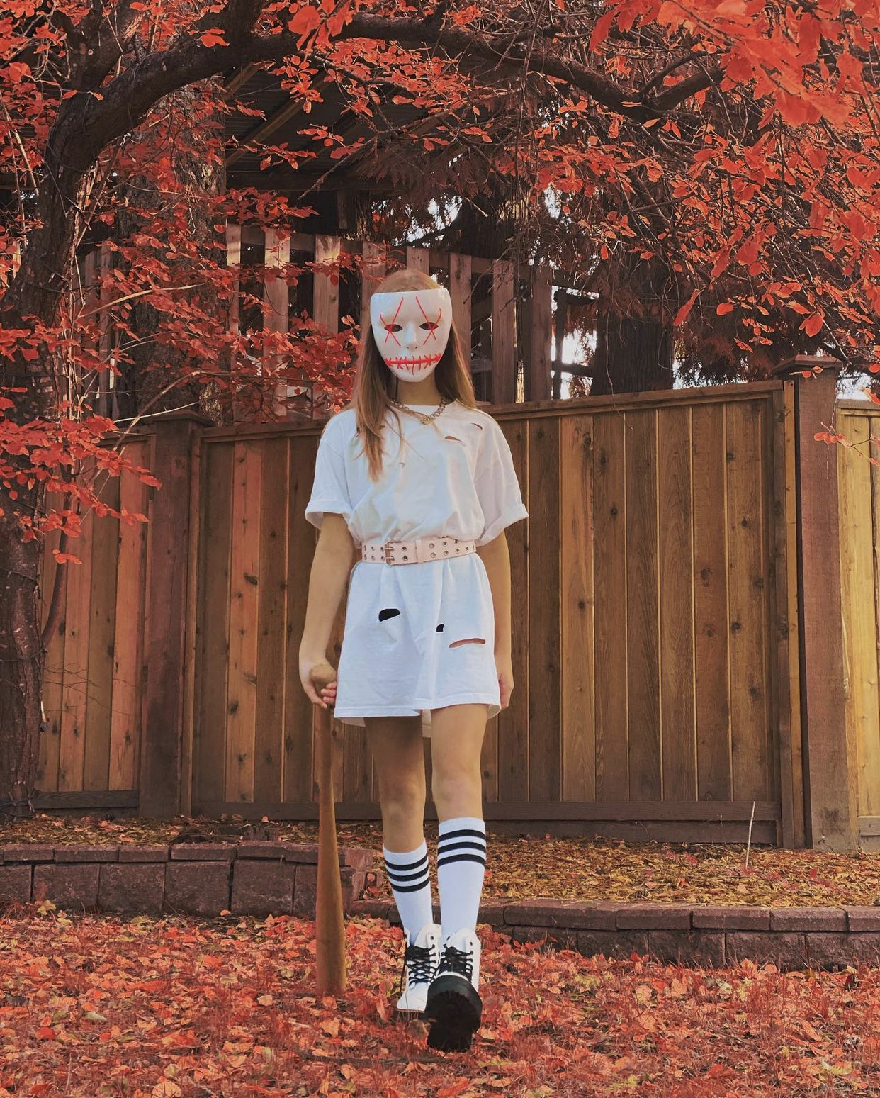 Purge Halloween Costume For Teen Girls