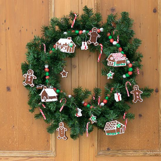 DIY Sweet Holiday Wreath