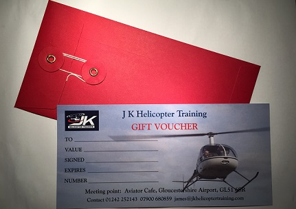 A Helicopter flight pleasure gift for 60 minutes