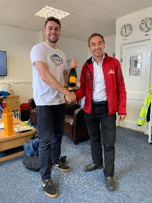 Another Helicopter Pilot completes his Flight Training with the James Kenwright Flying School.