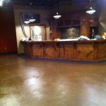Stained Concrete  Interior Stained Concrete Floor Gallery IMG 1670 Copy