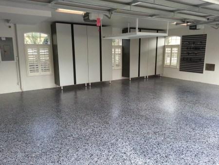 Epoxy floor coatings glossy floors for Epoxy coating for exterior concrete