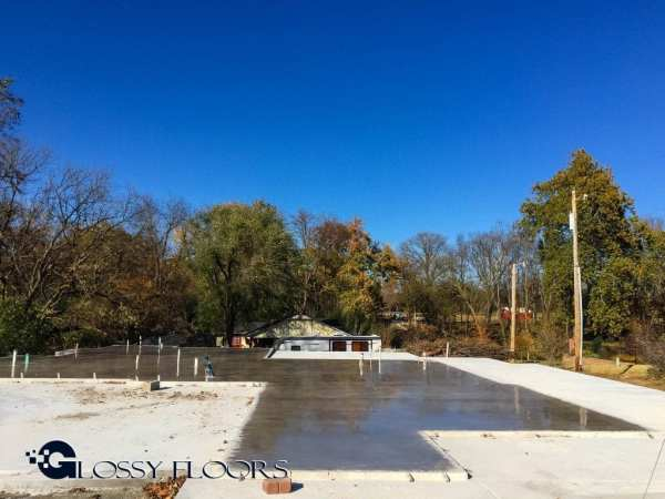 Residential Polished Concrete Slab