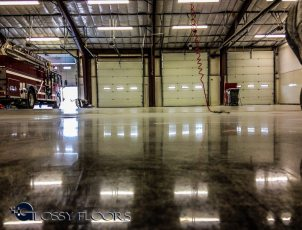 polished concrete Polished Concrete Gallery Centerton Fire Department 11