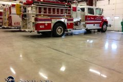 polished concrete Polished Concrete Gallery Centerton Fire Department 23