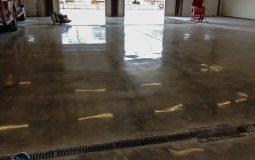 polished concrete Polished Concrete Gallery Centerton Fire Department 8