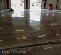 polished concrete Polished Concrete Gallery Centerton Fire Department 8