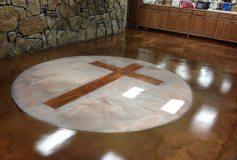 Epoxy Flooring Gallery Epoxy Wooden Cross 2