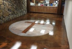 Epoxy Flooring Gallery Epoxy Wooden Cross