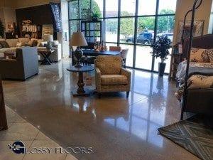 Ashley Furniture - Shreveport Louisiana - Polished Concrete Floors