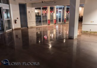 Stained Concrete Gallery Polished Concrete Floors Branson Music Theater 23