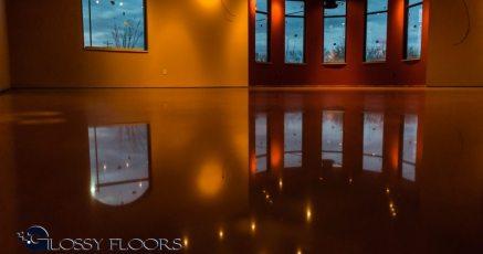 Stained Concrete Gallery Polished Concrete Floors El Matador Restaurant 1