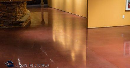 Stained Concrete Gallery Polished Concrete Floors El Matador Restaurant 17