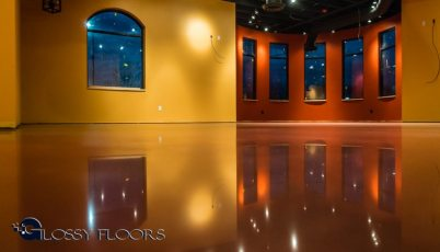 Stained Concrete Gallery Polished Concrete Floors El Matador Restaurant 7