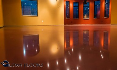 Stained Concrete Gallery Polished Concrete Floors El Matador Restaurant 9