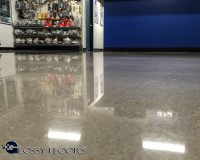 Polished Concrete Floors - Boss Shop Tulsa