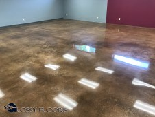 polished concrete design ideas Polished Concrete Design Ideas Stained Polished Concrete 1