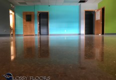 stained polished concrete floors Stained Polished Concrete Floors – Shirt Company Stained Polished Concrete 8