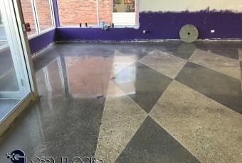 Stained Concrete Gallery Polished Concrete Mattress Showroom 92
