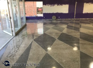 polished concrete Polished Concrete Gallery Polished Concrete Mattress Showroom 93