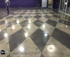 Stained Concrete Gallery Polished Concrete Mattress Showroom 95