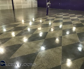 polished concrete Polished Concrete Gallery Polished Concrete Mattress Showroom 97