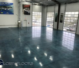 Stained Concrete Gallery Polished Concrete Showroom Floor 14