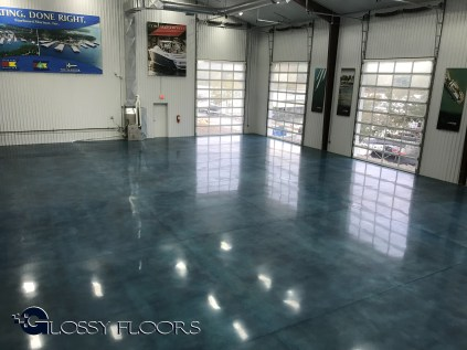 Stained Polished Concrete Floors stained concrete Stained Concrete Floors Polished Concrete Showroom Floor 14 300x225