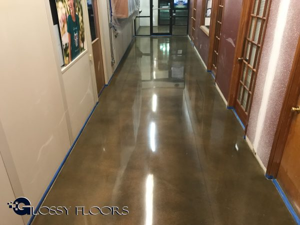 Stained and Polished Concrete Floors
