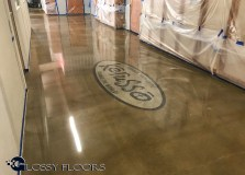 logo on polished concrete Logo on Polished Concrete Polished Concrete Floors 29