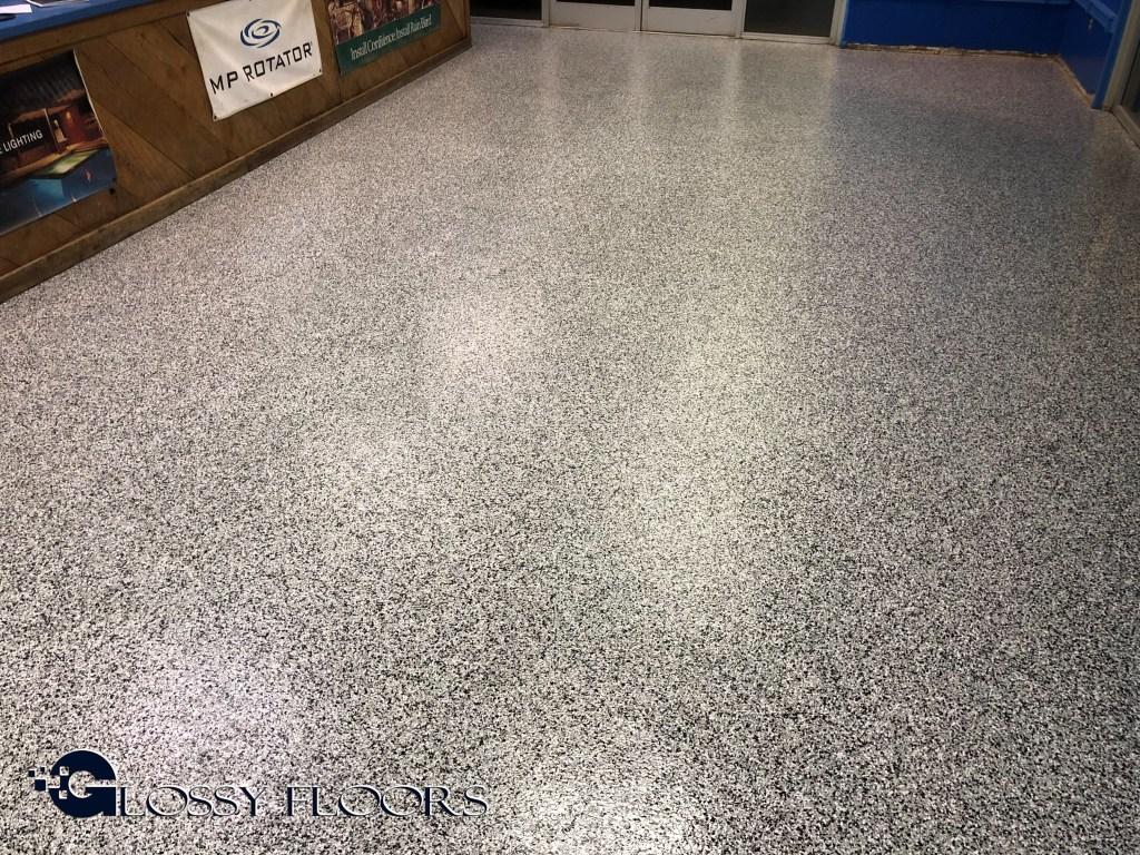 Epoxy Floor Coatings Glossy Floors - Flooring contractors okc