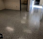 epoxy flakes on a showroom floor Epoxy Flakes On A Showroom Floor Epoxy Flake Floors 67