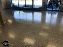 epoxy flakes on a showroom floor Epoxy Flakes On A Showroom Floor Epoxy Flake Floors 72