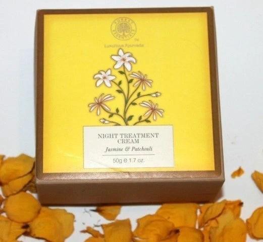 Forest Essentials Night Treatment Cream Jasmine & Patchouli Review 4