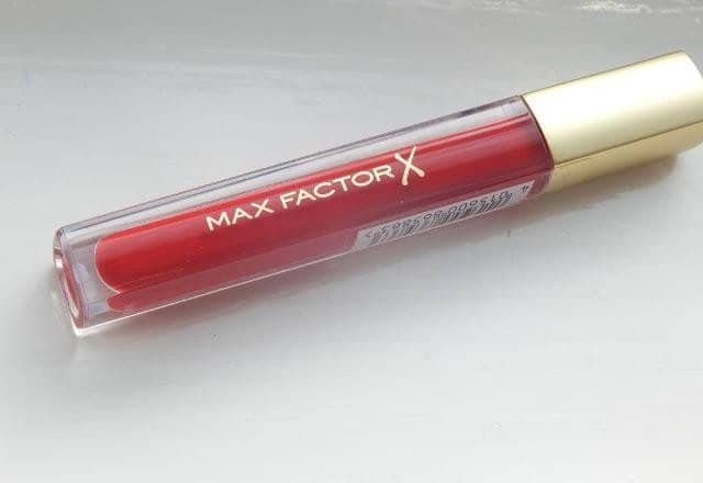 Max Factor Color Elixir Lip Gloss Captivating Ruby Review 4