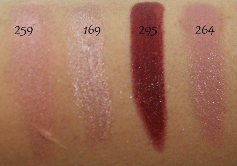 Inglot Lipstick swatches 6