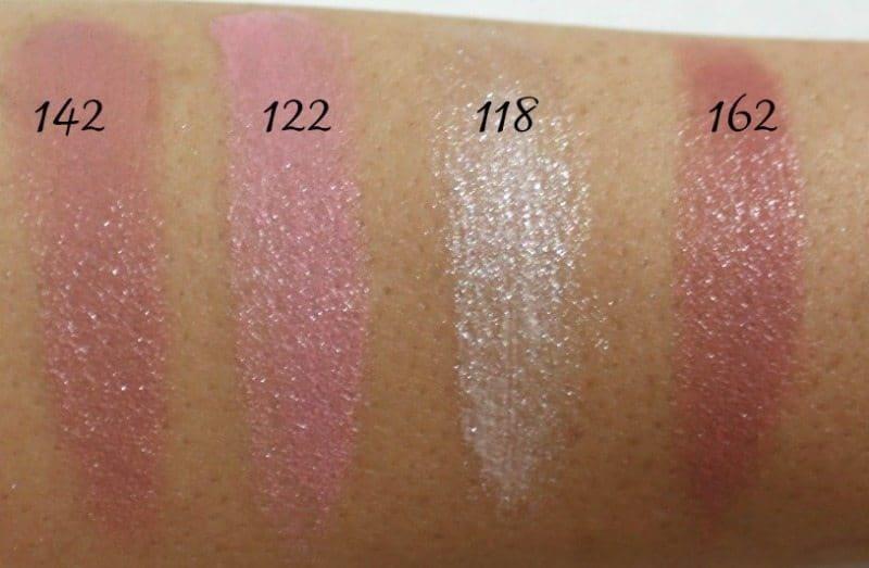 Inglot Lipstick swatches 7