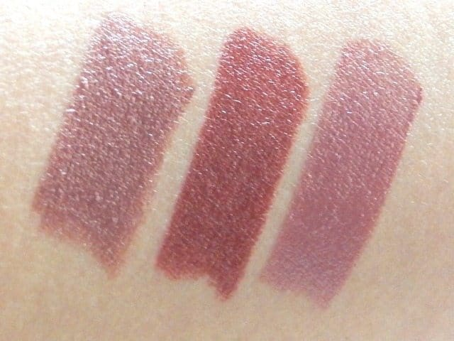 NYX round Lipstick review and swatches 1