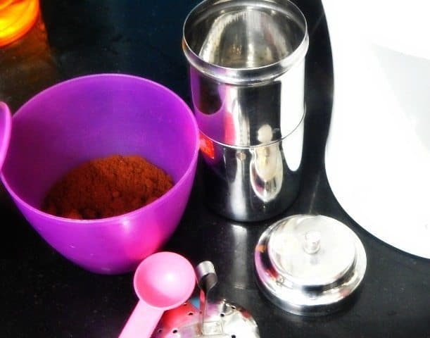South Indian Filter Coffee Recipe 4