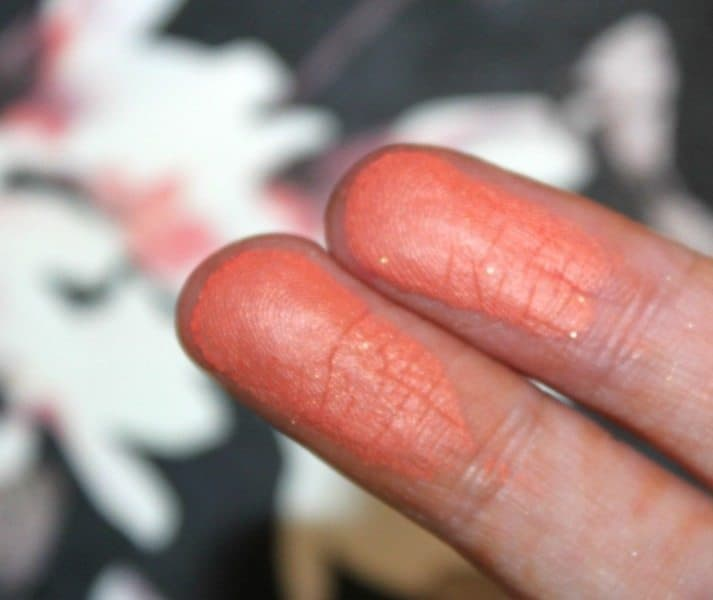 Colorbar Luminous Rouge Luminoius Coral Review and Swatches 3