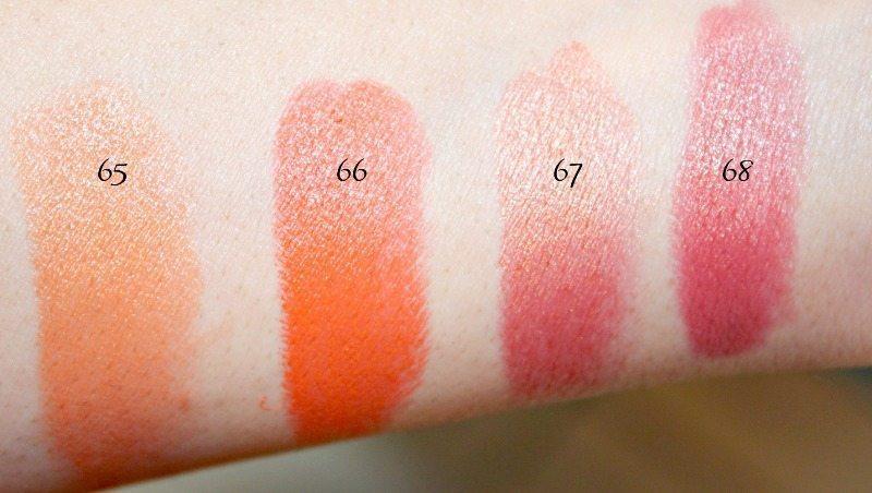 MAC Lipstick Swatches 19