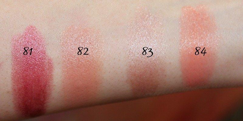MAC Lipstick Swatches 22